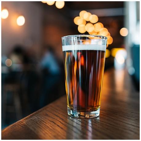 Bière artisanale ambrée